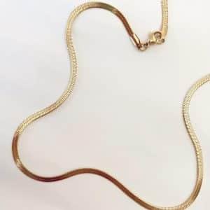 Cadenita Snake Ancha